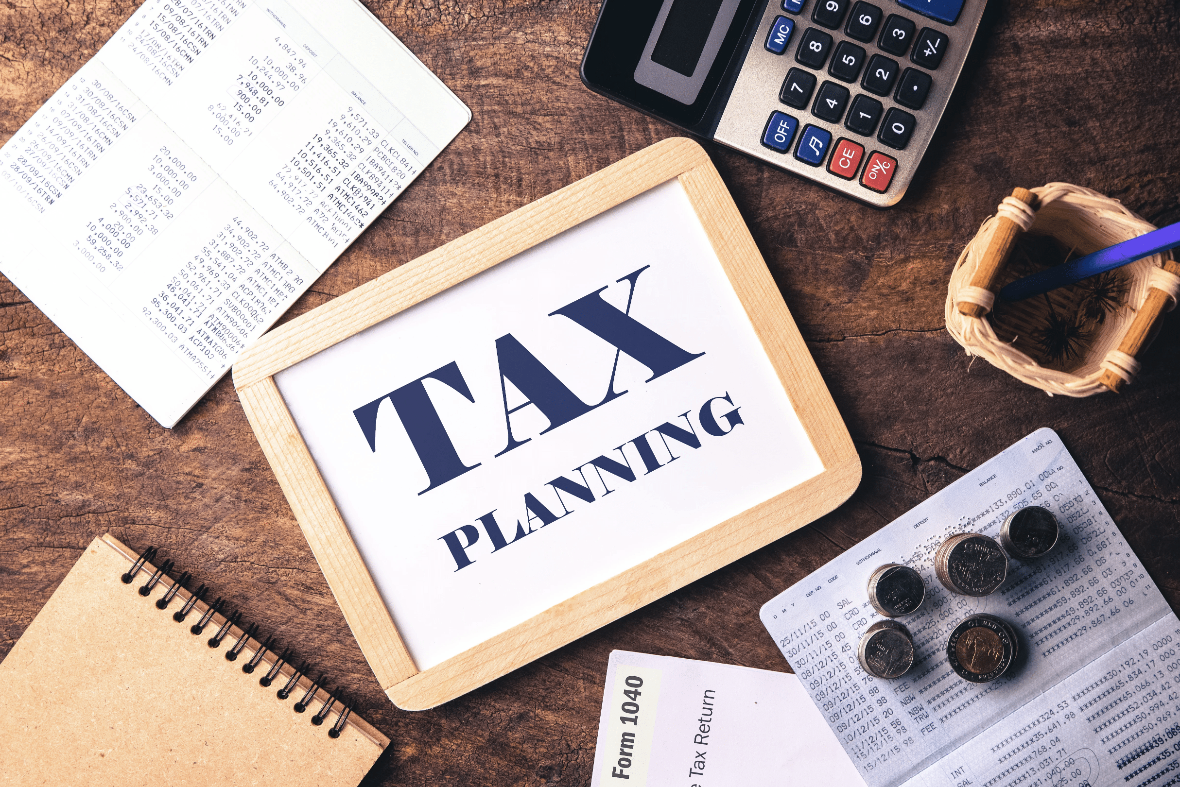 Chart in tax planning