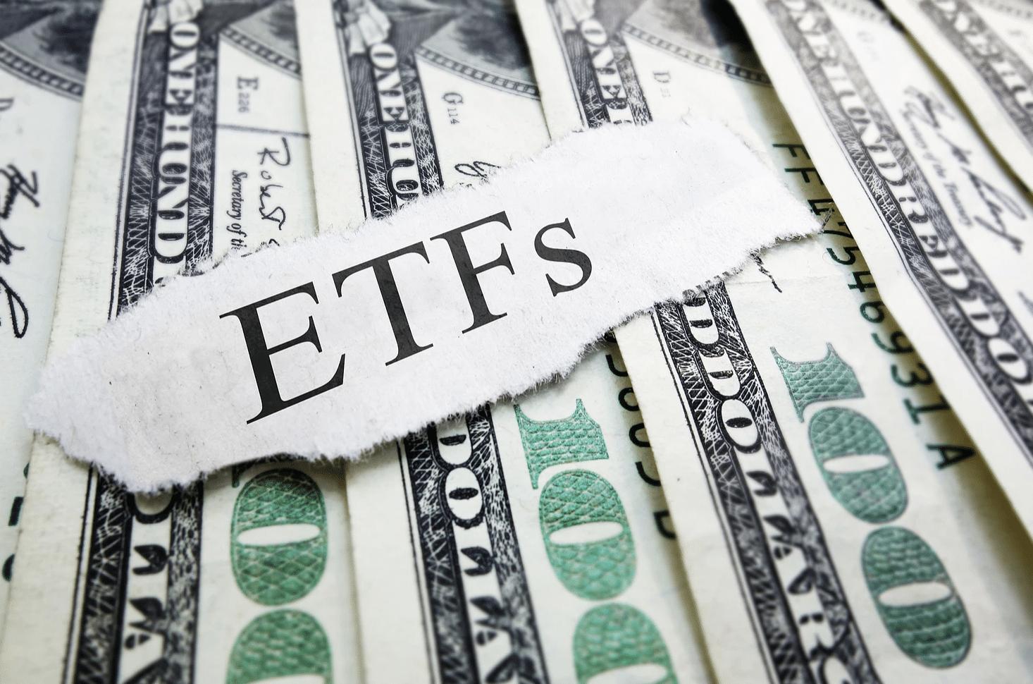 100 dollar bills with EFT paper on top